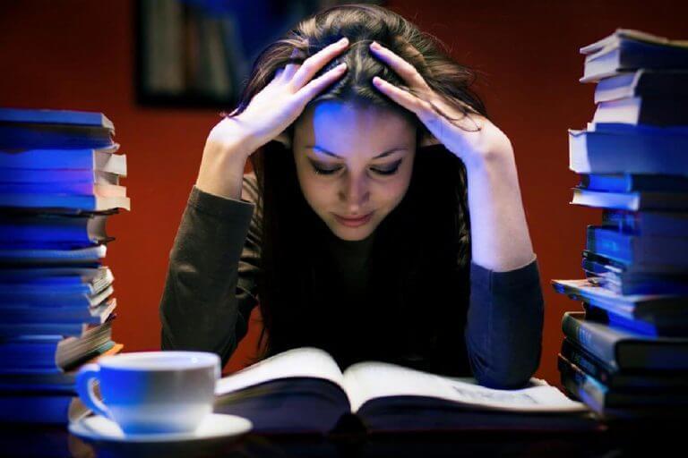non riesco a studiare